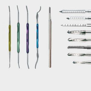 Instrumenten voor minimaal invasieve chirurgie hallux valgus